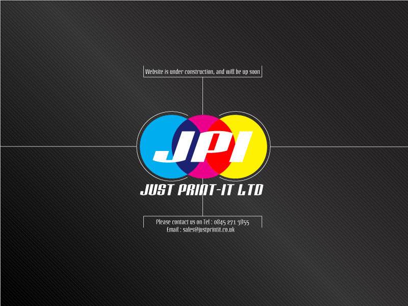 Just Print It Ltd - Coming soon
